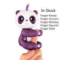 El dedo más nuevo Panda el Unicornio dedo de la pereza Electronic Smart Touch Fingers Interactive Monkey Finger Toy Party Favor con paquete al por menor