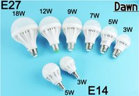 Wholesale E27 18w Globe Lamp Led - LED Bulbs E27 3W 5W 7W 9W 12W 18W 220V SMD5730 new Bombillas LED Lamp bulb Cold Warm White Ampoule spotlight