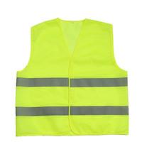 construction vest al por mayor-Chaleco de construcción de trabajo de seguridad en caliente Chaleco de trabajo reflexivo de tráfico Chaleco verde Ropa de seguridad reflectante dhl gratis