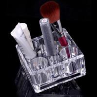 Wholesale Clear Acrylic Cosmetic Jewellery Organizer - Fashion Square Clear Acrylic Cosmetic Jewellery Organizer Makeup Box Case SF-1031 Acrylic Organizer Box
