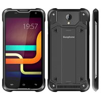 Wholesale Smartphone Android Quad Core Rugged - 5pcs DHL Guophone V18 Waterproof 4G LTE Rugged Smartphone 5.0 Inch Android 5.1 Quad Core 2GB RAM 16GB ROM 4500mAh Battery