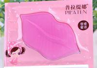 Wholesale lip collagen for sale - 2016 PILATEN lip Mask Women Collagen crystal lip mask hydrating Moisturizing whitening play down lip color lip