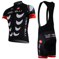 Wholesale Short Pants For Bike - 2017 New Arrival ! Pro Team Cycling Clothing Breathable & Quick Dry Bicycle Jerseys & GEL Pad Sportful Racing Bike Pants For Man black