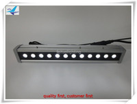 Wholesale Dmx Led Wall Washer Lights - (6 pieces lot) free shipping outdoor stage light 12x10w wall washer light, rgbw dmx led wall washer