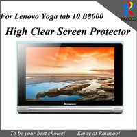 Wholesale free lenovo tablet for sale - Group buy High clear screen protector film for Lenovo yoga b8000 quot tablet screen guard cover for lenovo B8000 free ship