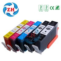 Wholesale Ink For Hp Photosmart - 5 PCS Ink Cartridges 564XL Compatible For HP564 HP 564 564XL hp Photosmart 5510 5511 5512 5514 5515 5520 5522  5525 6510 printer