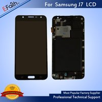 Wholesale Display Screen Galaxy S4 - For Samsung Galaxy J7 Black Prime G610 G610F G610K G610L G610S G610Y LCD Display with Touch Screen Digitizer Assembly & Free Shipping