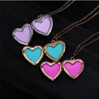 Women Charm DIY Floating Lockets Necklace 18K Gold Plated Fashion Chain Jewelry Alta qualidade Frete grátis