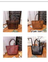 Wholesale Women Fashionable Black Bags - 2017 Hot Selling New Arrival Women Handbags Shoulder Bags Large Capacity High Quality Fashionable Elegant Free Shipping
