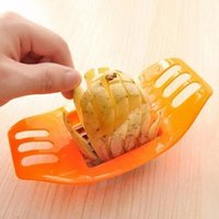 Wholesale potato cutter sale resale online - Potatoes Bar Cutter For French Fries Multi Function Creative Family necessity Tool Easy To Clean Hot Sale qh I1 R