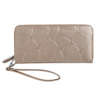 Wholesale Mobile Phone Wallet Purse - Women Hand Phone Wallets Large Capacity Long Leather Design Day Clutch Casual Ladies Cash Purse Female Mobile Zipper Wallet