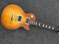 Wholesale Electric Guitar Appetite - lp guitar Appetite Natural yellow burst Electric Guitar Free Shipping