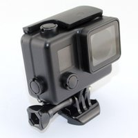 gopro house case funda impermeable para Gopro 3 + / 4 Underwater 45M funda Black Diving Surfing carcasa protectora