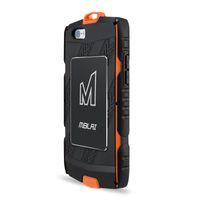 tpu anti şok ekran koruyucusu toptan satış-MBLAI Açık Anti-şok Su Geçirmez Telefon Kılıfları iphone 6/6 s artı 5.5 inç Plastik TPU Kabuk Temperli Cam Ekran Koruyucu
