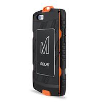 защитный экран для защиты от ударов tpu оптовых-MBLAI Открытый Anti-shock Водонепроницаемый Телефон Чехлы Для iPhone 6/6 s плюс 5.5 дюймовый Пластиковый ТПУ Shell Закаленное Стекло-Экран Протектор