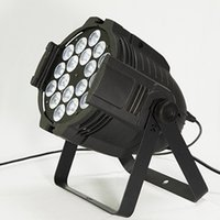 Wholesale Led Dmx Can - Quad Par 18x12W RGBW 4-in-1 LED Par Light Dmx Par Cans 64,Floor-standing Wash Light Projector For Event,Stage,Wedding,4pcs Carton