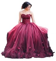 Wholesale Dresses For 15 Years - 2017 Lace Appliques High Neck Beads Long Pageant Quinceanera Dresses Sweet 16 Dress For 15 Years Prom Gowns QU09