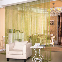 Wholesale Curtain Wall Decorations - Bling Bling Flat silver wire curtain Wedding Decoration Entrance decoration curtains Decorative partition Background wall hanging curtain