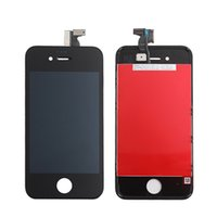 Wholesale Iphone 4s Glass Frame - Best Price A+++ Quality For iphone 4S 4GS iphone4S GSM Full Front Glass LCD Display Digitizer Touch Panel Screen Assembly With Frame