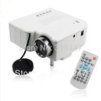 Wholesale Hdmi Vga Brand - Wholesale- Brand New! Support HDMI Mini Portable LED Projectors wIith HDMI VGA AV USB SD Inputs