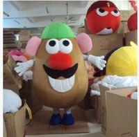 Wholesale Mushroom Halloween Costumes - Potato mushroom corn cartoon dolls mascot costumes props costumes Halloween free shipping