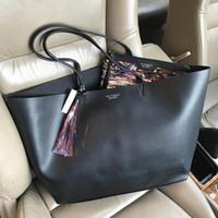 pele de couro vermelha do ipad venda por atacado-2017 Luxury brand handbags women shoulder bags Fashion designer totes purses ladies leather fashion bag female business bolsas free shipping