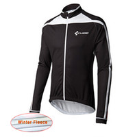 Wholesale Cube Long Sleeve Cycling Top - CUBE Fleece winter Cycling jersey ropa ciclismo hombre men Long Sleeves MTB Cycle bike maillot mountain clothing D0513