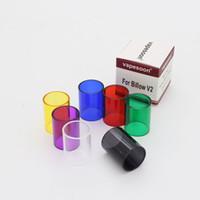 ingrosso serbatoi ehpro-Tubo di vetro colorato Pyrex di ricambio all'ingrosso per serbatoio 7 colori Ehpro Billow V2