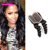 CCollege Hair 8A Grade Malaysian Closure Loose 3 Part virgem Loose and Cheap Hair Closure 4x4 Malásia Silk Lace Closure On Sale
