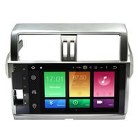 "Wholesale Toyota Prado Android - 10.1"" Android 6.0.1 System Car DVD Radio For Toyota Prado 2014+ GPS Navi Receiver Octa-Core OBD DVR Steering Wheel Control Mirror Screen"