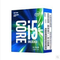 Intel processore CPU 7Gen Core I5 ​​processore 14nm LGA1151 7600K 7600 4 Core 4 thread 6MB Cache Dual Channel DDR4 2133/2400