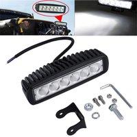 luces de inundación llevadas smd al por mayor-Barra de luz de trabajo de camión de coche 18W 6 SMD LED que invierte la lámpara Worklight para Jeep Boat 4WD 12V 24V