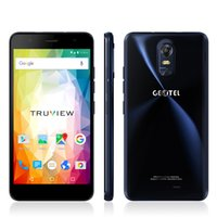 Wholesale Cell Mobile Tv Digital - Original Geotel note 5.5 Inch HD Smartphone Android 6.0 MTK6737 4G LTE Mobile Phone 3GB RAM 16GB ROM 3200mAh Cell Phone