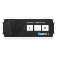 Wholesale Best Wireless Music Receiver - Wholesale-2016 Best Selling Price Car Wireless Bluetooth Kit 4.1 Hands Free Phone Music Audio Receiver Car Kit unit