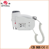 Wholesale Air Blower Motor - Wholesale- Hot Selling High Quality Wall Mounted Hair Dryer Electric Blower Direct Current Motor professional Hair Dryer