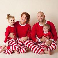 Wholesale Children S Christmas Pyjamas - Christmas Children Adult Family Matching Outfits Xmas Toddler Kids Girl Boy Christmas Pyjamas Sleepwear Pajamas Set 2-6Y S-2XL