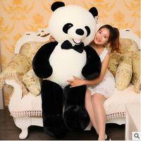 Wholesale Huge Panda Plush - 80 100 120 140cm giant plush panda bear skin Biggest Lovely Soft Huge Giant panda factory price high quality