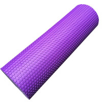 Wholesale cm Foam Roller Gym Exercise Fitness Floating Point EVA Yoga Pilates Roller Physio Trigger Massage W21