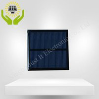 Wholesale solar panel online - 100pcs Epoxy Resin Mini Solar Panel V mA mm