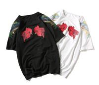 Wholesale Bulk Shirts - bulk quantity price customized handmade embroidery chicken design t shirts design for men