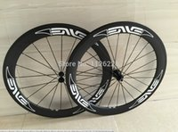 Wholesale Cycling Road Wheels Carbon - basalt brake surface!!700C 50mm carbon road bike wheels clincher bicycle road bike wheelset black cycling wheels white decals free shipping