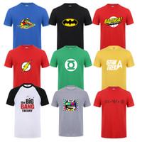 Wholesale Big Bang Theory Sheldon T Shirt - Wholesale- Sheldon Cooper Penny T shirts Men printed Short sleeve The Big Bang Theory T-shirt for men Cooper Logo T shirt men Tops