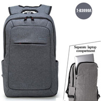 Wholesale Notebook 14 Inch - 2017 Tigernu Men's Backpacks Anti-thief Mochila for Laptop 14-15 Inch Notebook Computer Bags Men Backpack School Rucksack