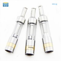Wholesale Ego Twist 5pcs - Wholesale-5pcs M14 E cig Atomizer for e liquid 2.0ml clearomizer ego tank fit for ego evod twist battery electronic cigarette atomizer