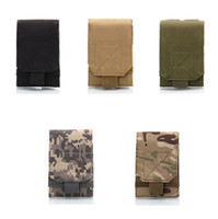 Wholesale molle pouches accessory for sale - Outdoor Tactical Molle Waist Pack Fanny Phone Pouch Belt Bag Camping Hiking Bag Portable Camouflage MOLLE Accessory Bag LJJK726