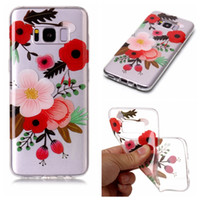 Wholesale Dog Tpu - For Samsung Galaxy NOTE8 S8 Plus S7 S6 Edge S5 2017 A3 A5 2017 J3 J5 J7 US EU J330 J530 J730 Owl Cartoon Dog TPU Soft Case Flower Cover