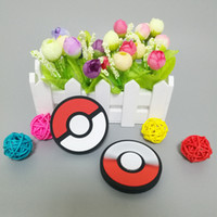 Wholesale Novelty Buttons Wholesale - 2017 Hot Novelty Fidget Spinner Pokeball Hand Spinner Game handle button style Fidget Spinners USA Spinners for Decompression by DHL
