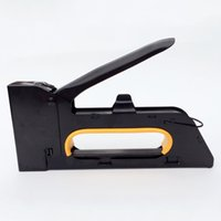 black wooden furniture - Manual nail gun for wooden furniture Large stapler Metal material Rugged and safe Black does not rust Free postage