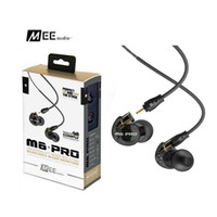 Wholesale Best Color Monitor - Best MEE Audio M6 PRO Noise Canceling 3.5mm HiFi In-Ear Monitors Earphones with Detachable Cables Sports Wired Headphones White Black Colors