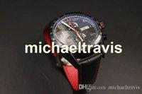 Wholesale Calibre Digital - Special Edition Black Dial TAG Quartz -watch Men Chronometer Black Case Calibre 16 Black Leather Stopwatch Digital Movement Watch free Shipp